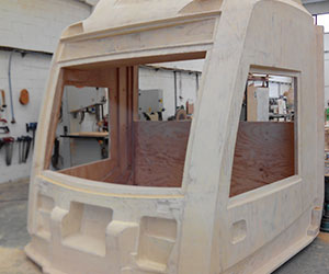 Modelos para piezas composites